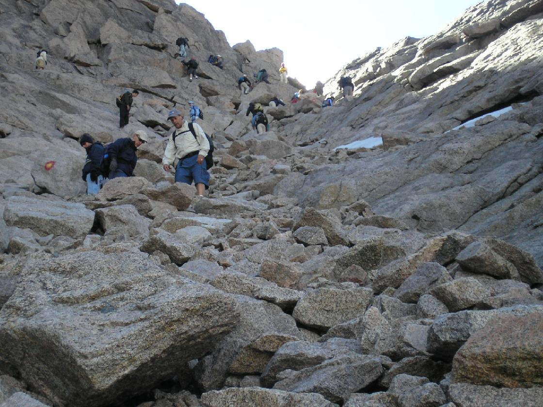 Climb Longs Peak Colorado 2005